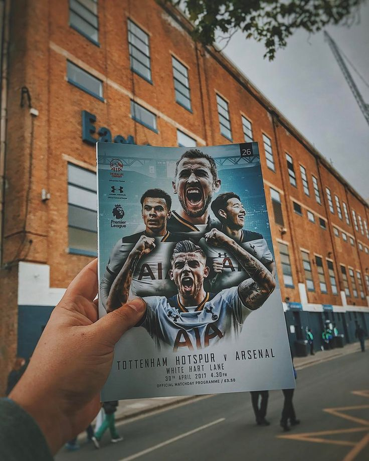 It was a fantastic game yesterday and great result for the Spurs!  #nld #EPL #COYS #THFC #thfc1882 #Football #Soccer #northlondonderby #premierleague #tottenham #Stadium #Programme #footie #lilywhites #inhand
