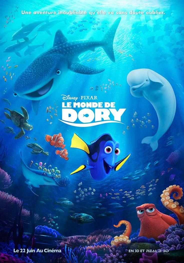 [Juillet 16] Dory, le poisson chirurgien bleu amnésique, retrouve ses amis Nemo et Marin. Tous trois se lancent à la recherche du passé de Dory. Pourra-t-elle retrouver ses souvenirs ? Qui sont ses parents ? Et où a-t-elle bien pu apprendre à parler la langue des baleines ?