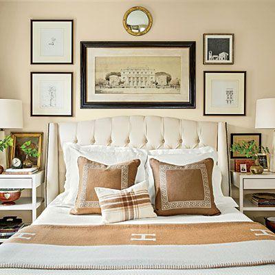 Handsome Master Bedroom - Master Bedroom Decorating Ideas - Southern Living