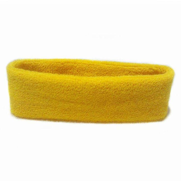 Wholesale High Quality Cotton Sports Sweat Headbands For Men Women Tennis Badminton Yoga Gym Basketball Hair Bands Sweatband