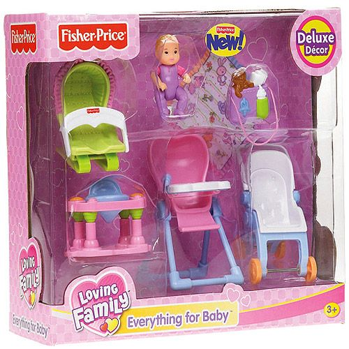 Dollhouse Furniture Discount Fisher Price Year Loving: Fisher-Price Loving Family: Everything For Baby: Dolls