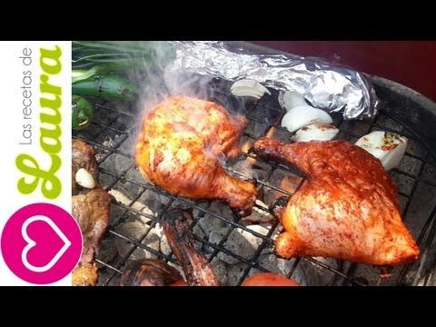 ▶ Como Marinar Pollo para Asar Las Recetas de Laura Recetas Saludables - YouTube