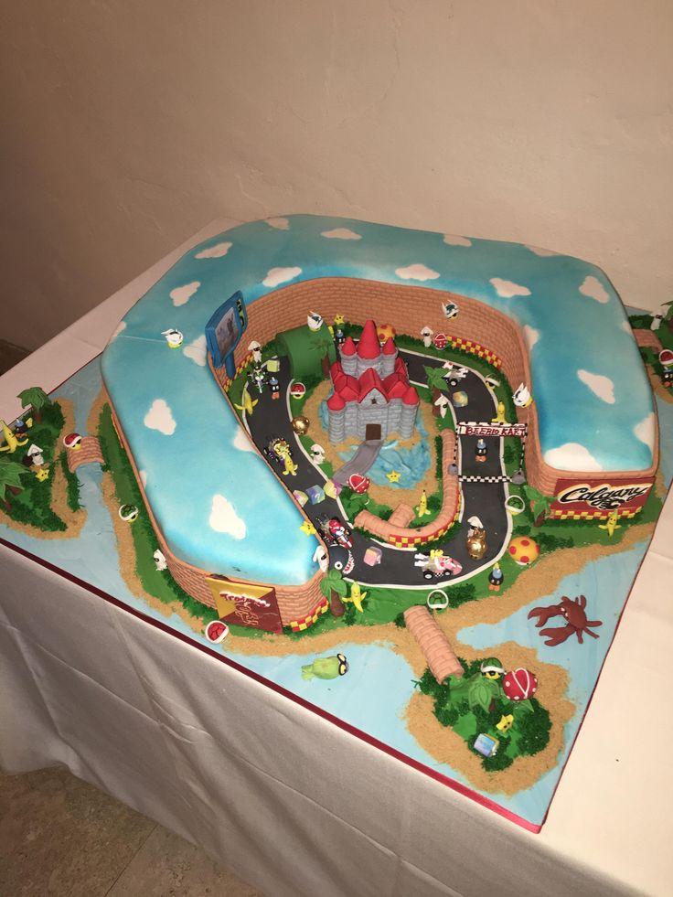 """""""Beerio-Kart"""" Wedding Cake"""