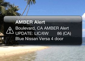 Smartphone Amber Alert Freaks Out Everyone In California By Laura Northrup August 6, 2013