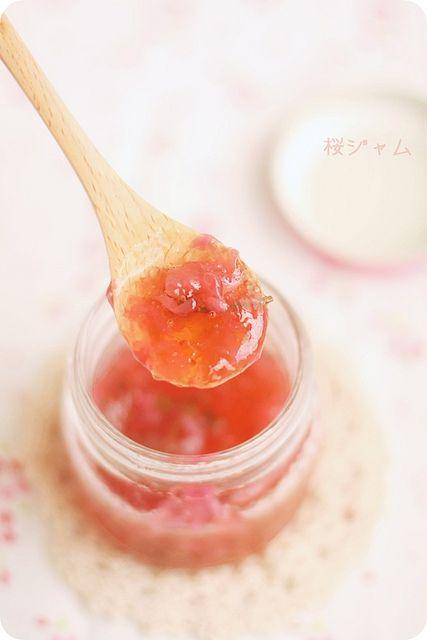 Sakura Jam 桜ジャム by bossacafez, via Flickr