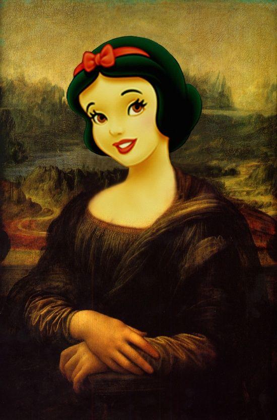 Snow White - Walt's Original Art Print