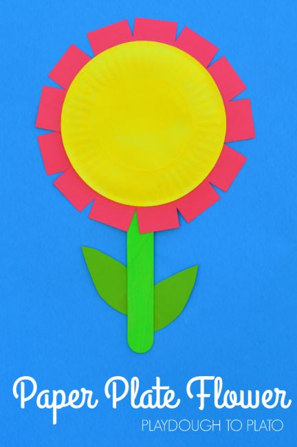 Best 25 Flower Crafts Kids Ideas On Pinterest