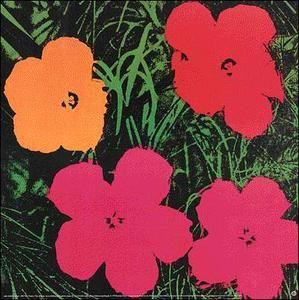 Flowers (1) - (Andy Warhol)