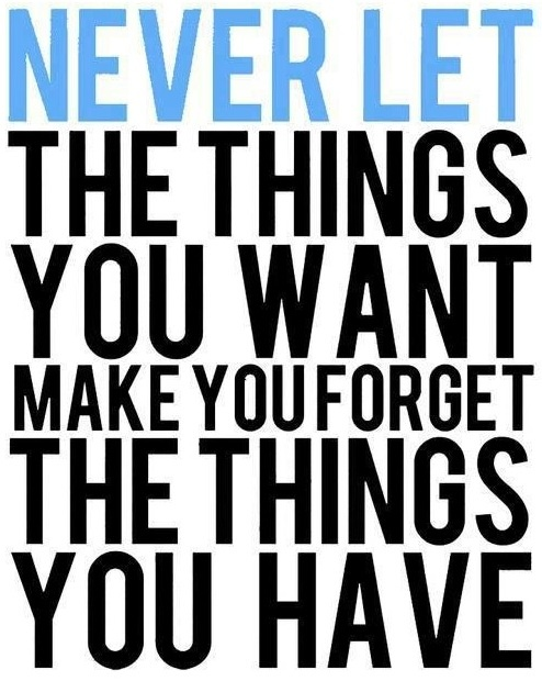 Gratitude quote... Needed this reminder