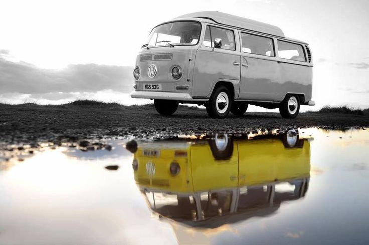 Reflection from Scotland from the Roadside. Photo Credit: Ian Barr