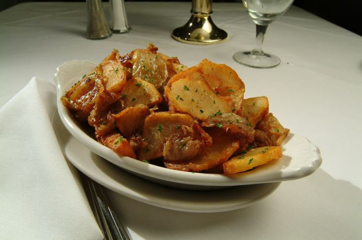 Ruth Chris Steakhouse Copycat Recipes: Potatoes Lyonnaise