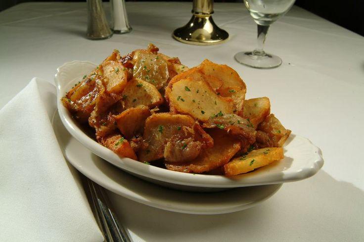 Lyonnaise potatoes, mmmm.