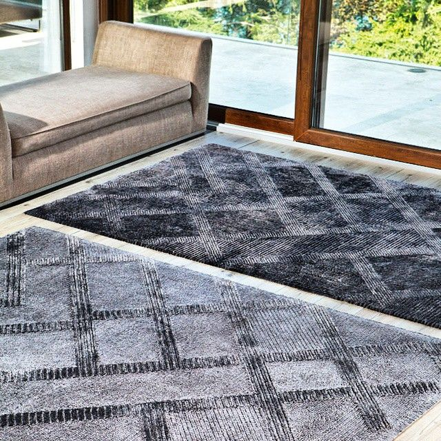 A rug can dramatically change the look and feel of a room. Find the best carpets for your space at MOIE, such as this #StarViscose by @stepevicarpets