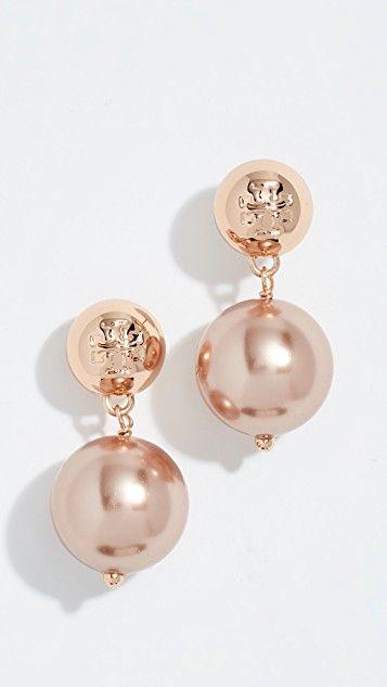 9f33668a9 Crystal Drop Earrings in 2019   pearl drop earrings   Earrings, Drop ...