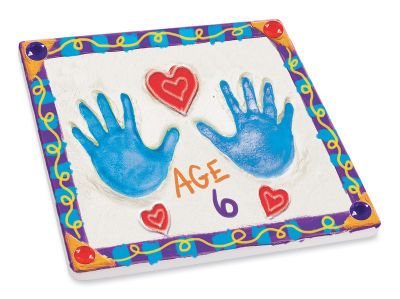 Mother's Day Handprint Stepping Stone