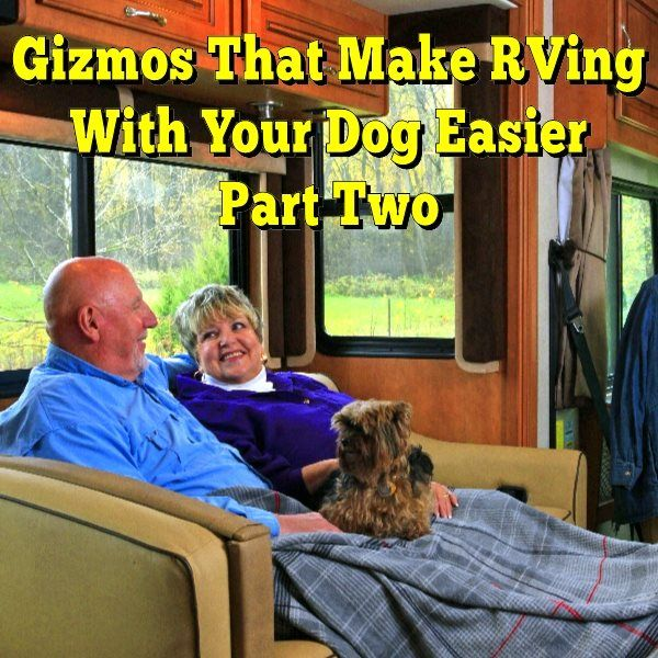 Gizmos That Make RVing With Your Dog Easier Part Two