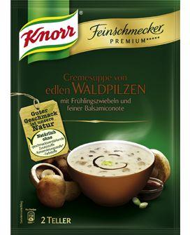 KNORR+Feinschmecker+Premium+*****+Cremesuppe+von+edlen+Waldpilzen
