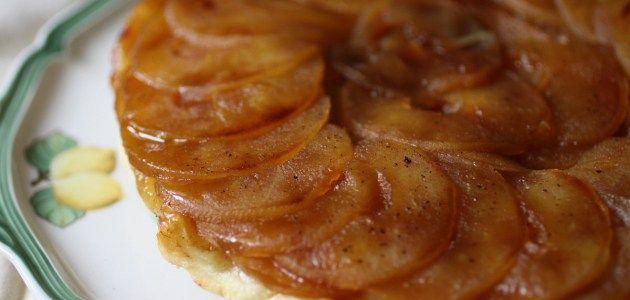 Французский пирог наизнанку: Тарт Татен – Вся Соль - кулинарный блог Ольги Баклановой