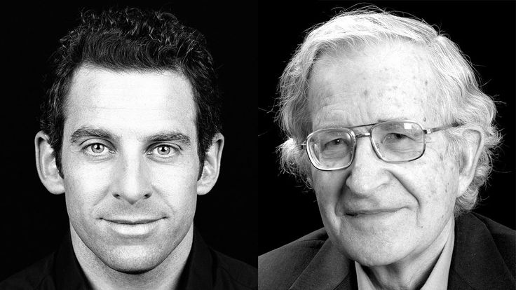 Sam Harris Vs Noam Chomsky