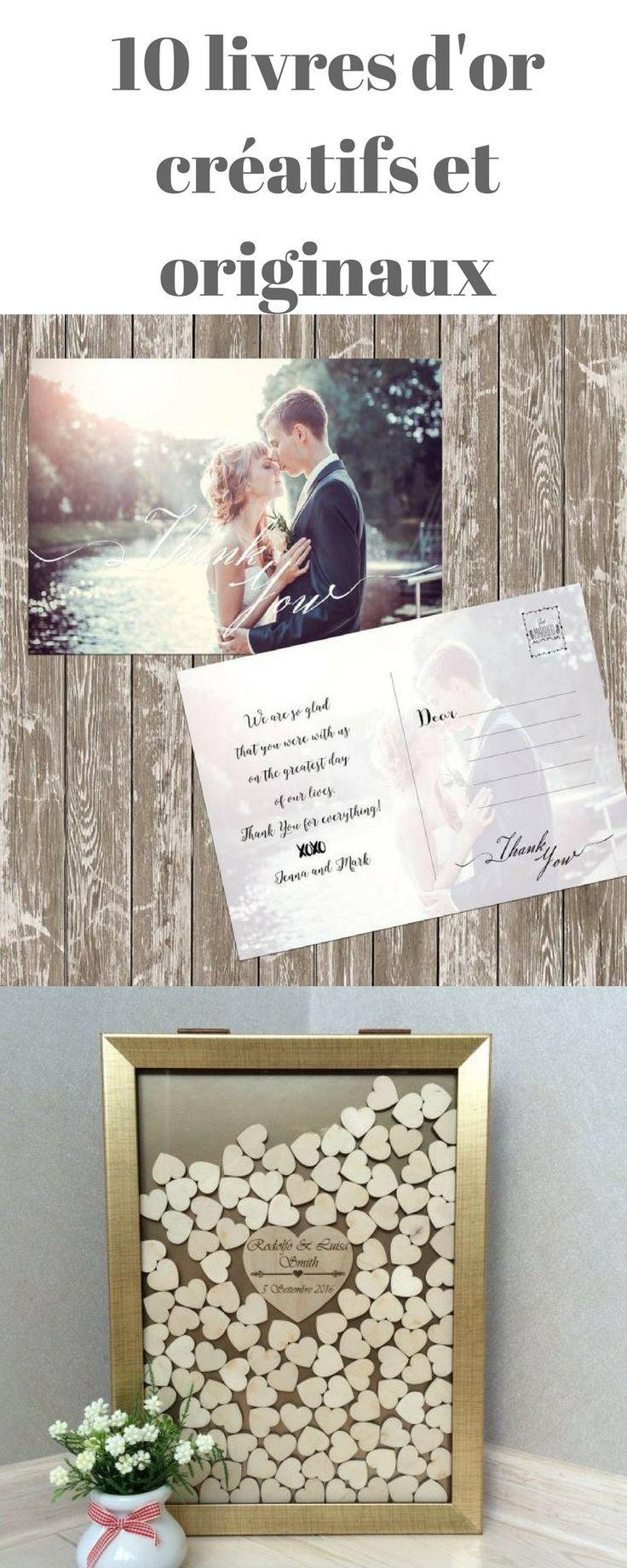 17 meilleures id es propos de livre d 39 or mariage sur pinterest livres d 39 or et mariage de. Black Bedroom Furniture Sets. Home Design Ideas