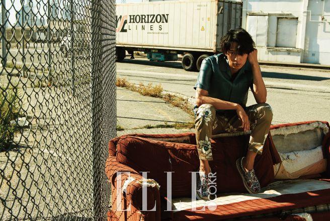 Kang Dong Won - Elle Magazine May Issue '16