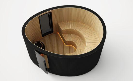 Nice sauna concept