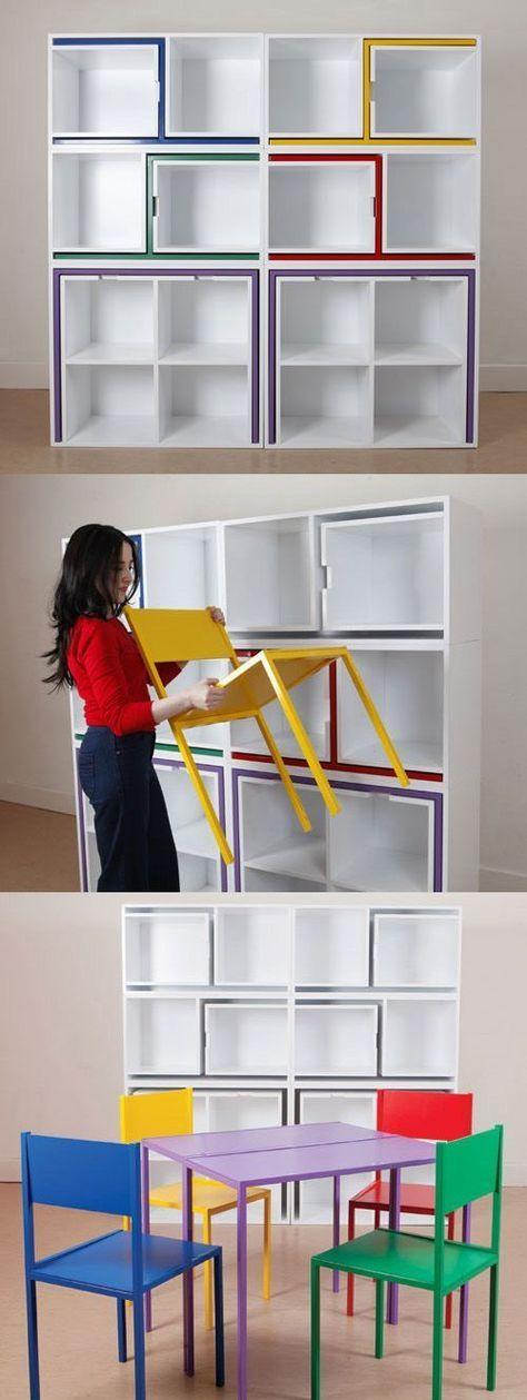 Volete recuperare spazio in casa 25 soluzioni e idee for Soluzioni arredo salvaspazio