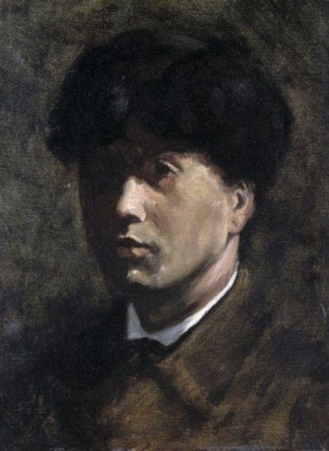 Jan Toorop - Zelfportret (1881)