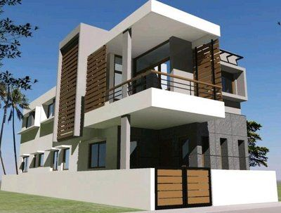 Awesome Guest House Designs #9 - Modern Residential House Design