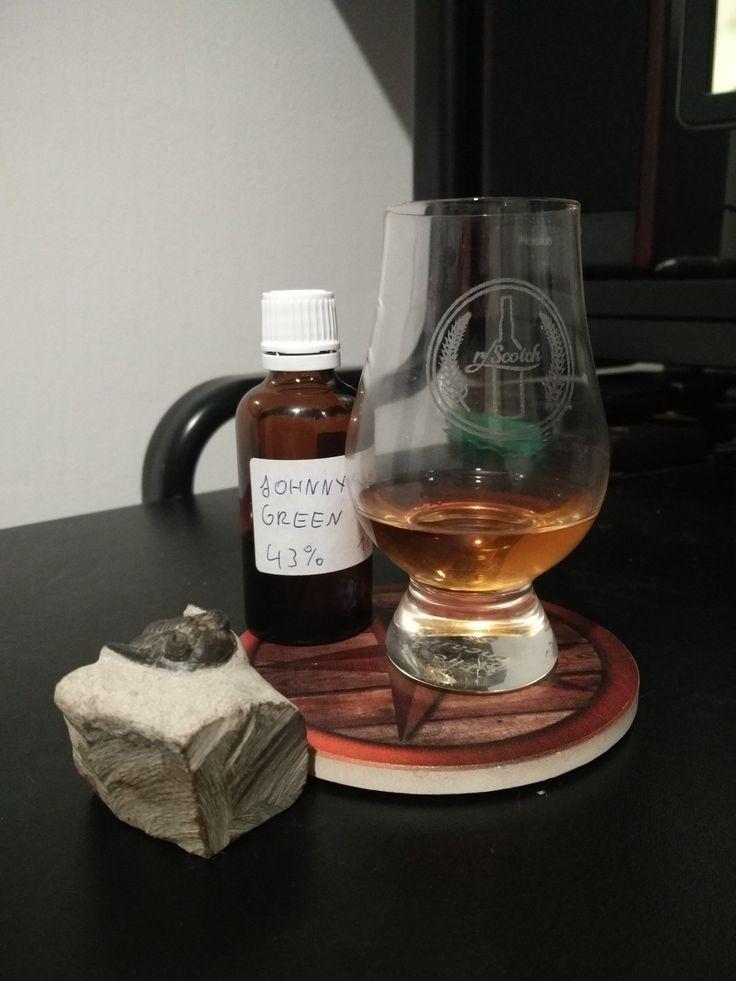 Johnnie Walker Green Label - Review #389 #scotch #whisky #whiskey #malt #singlemalt #Scotland #cigars