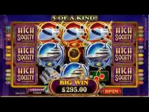 High Society Online Slot Game   Royal Vegas Casino