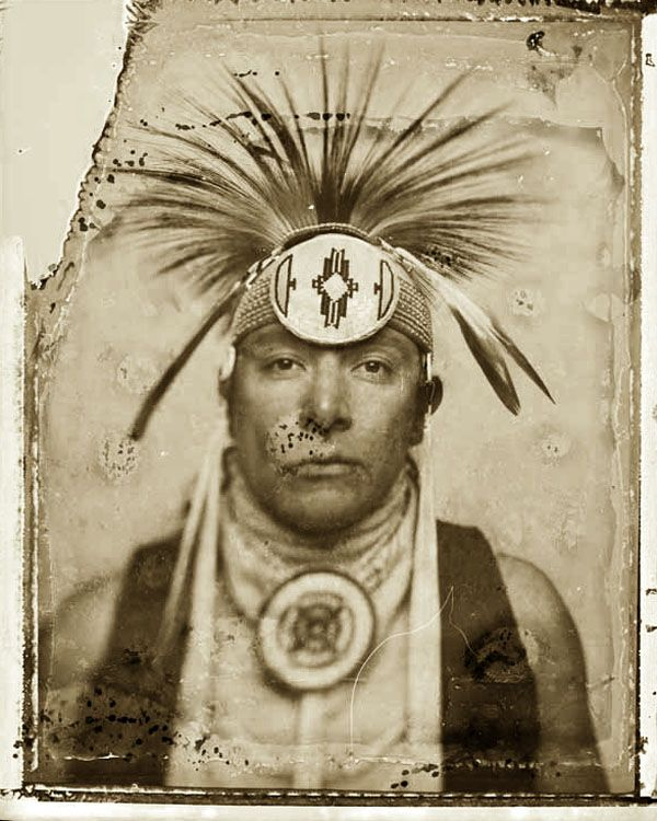 Photo Of Edwardo Madril Of The Pascua Yaqui Tribe