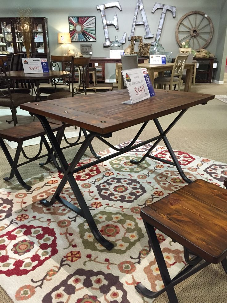 350 ashley friemore rect drm table set but could use  : ba6f6908c000683df0761b6648795234 from www.pinterest.com size 736 x 981 jpeg 162kB