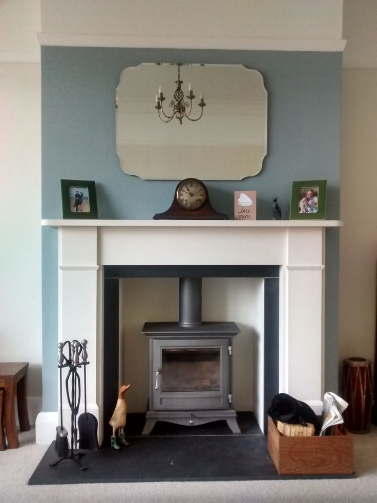 Tiled fireplace transformation | Heart Woodburners …