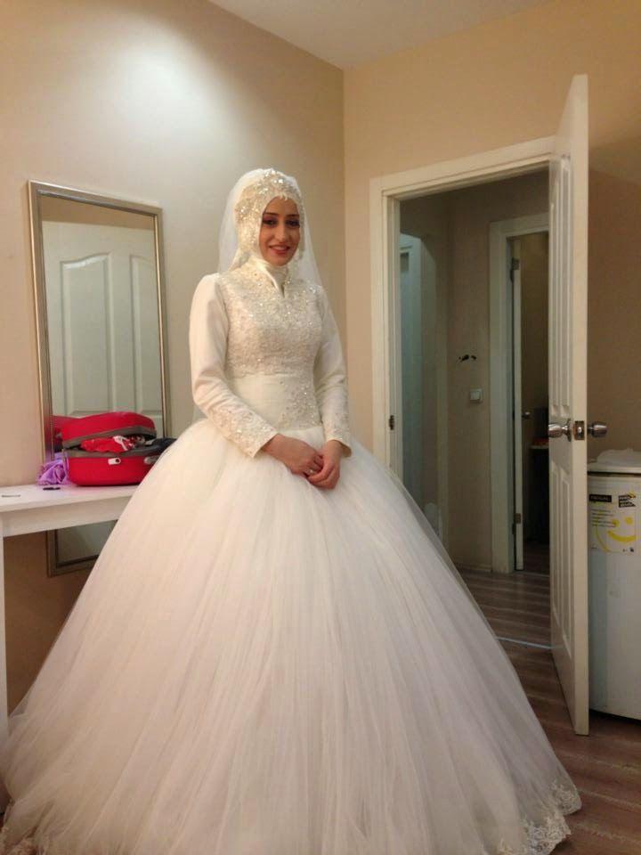 La robe blanche turque