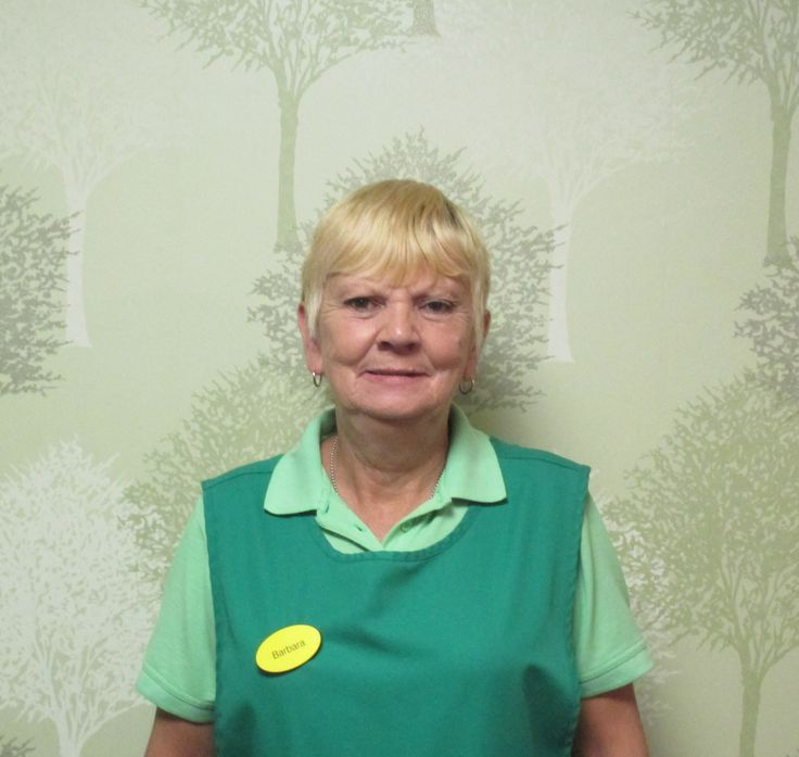 Meet Barbara   Meet Barbara smile emoticon   Barbara's worked with us at Birch Green Care Home for nearly eight years, mainly as a laundry assistant but also in our kitchen and cleaning team, in fact Barbara likes helping out whenever she can as she says that she really enjoys it and that it's a real pleasure working at Birch Green because she loves talking to all our residents.   Read more by clicking  http://on.fb.me/1gZCkZs