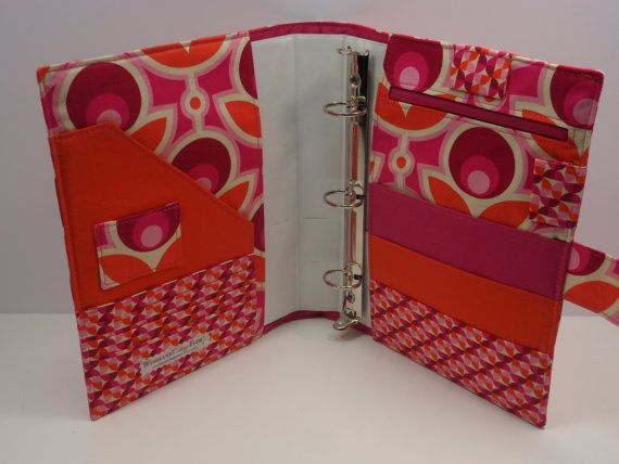 fabric notebook cover instructions