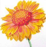 Simple Flowers--Blanket Flower from Jean Smith Designs