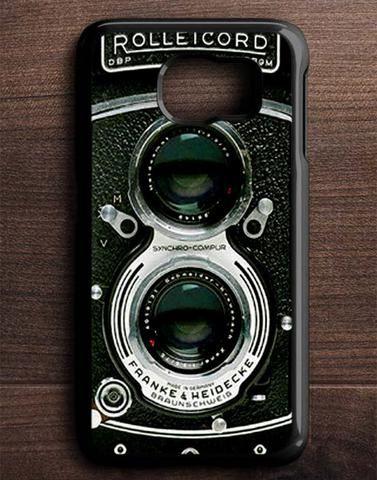 Vintage Camera Samsung Galaxy S6 Edge Case