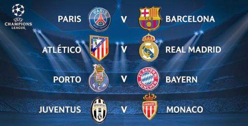UEFA Champions League 2014 2015 Cuartos de final
