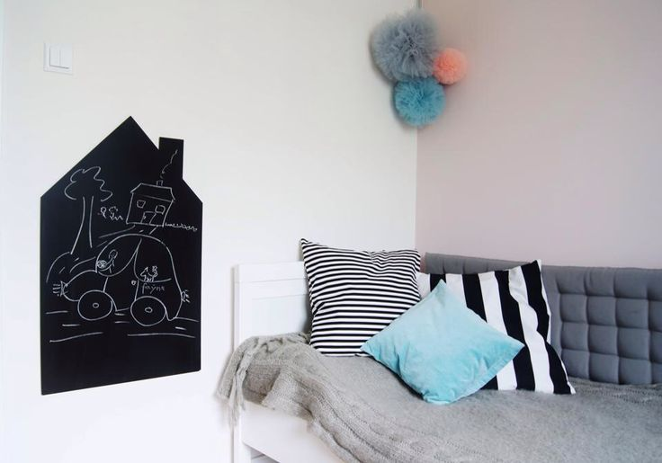 Chalkboard on the wall