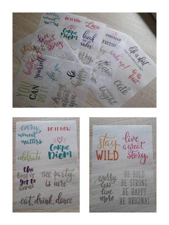 Textes Sur Papier Velin Velum Paper Quotes Citations Pour Etsy Paper Quote Vellum Paper Paper