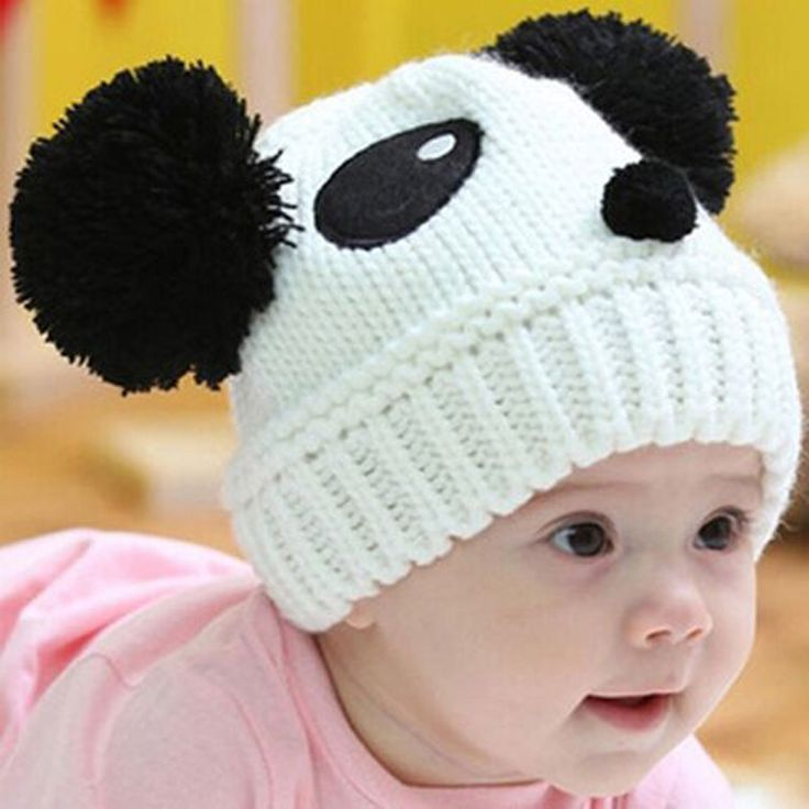 >> Click to Buy << Hot Sale Newborn Baby Wool Cute 100% Hand Knitted Mix Coffee White Red Panda Infant Hat 0-5months Baby about  21cmx17cm-1 Pcs #Affiliate
