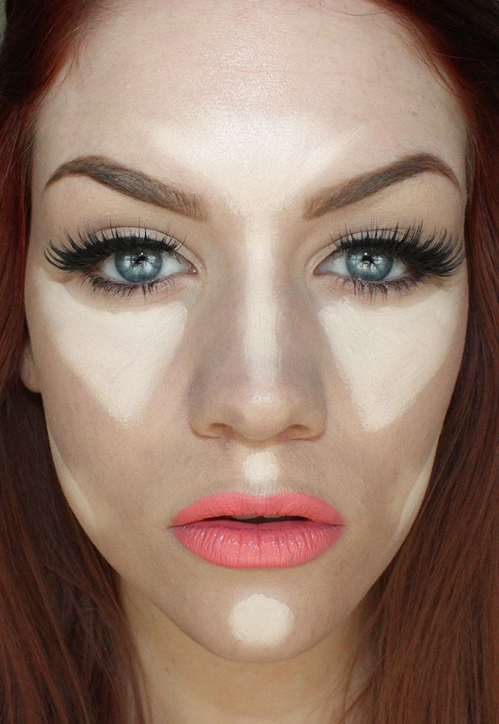 MAIN HIGHLIGHT AREAS: Center of forehead, center of the nose,  cheekbones/apples of cheeks, cupid's bow, chin, under cheekbones.  After appl...