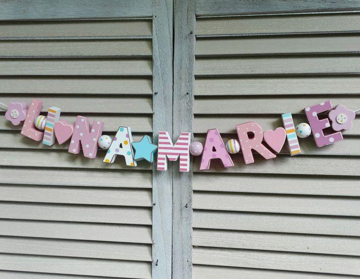 Namensschriftzug Kinderzimmer: Shopthewall trschild kinderzimmer ...