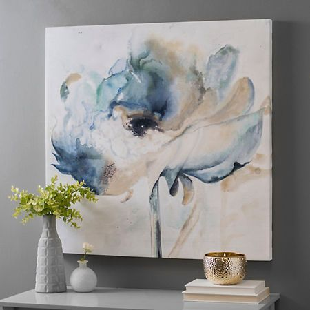 Art-Blumen Soft Juliette I Canvas Art Print How To Choose The Perfect Retailer For Your Log Furnitur Abstract Flowers, Abstract Watercolor, Abstract Canvas, Canvas Art Prints, Watercolor Paintings, Canvas Wall Art, Portrait Paintings, Painting Abstract, Acrylic Paintings