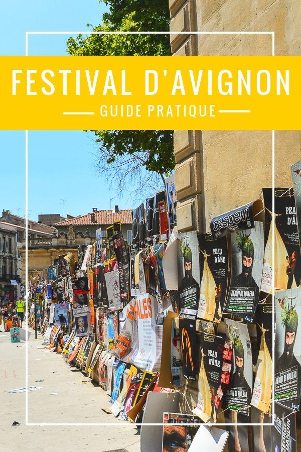 Transport, hébergements et bons plans : tout ce qu'il faut savoir pour profiter au maximum du Festival d'Avignon!