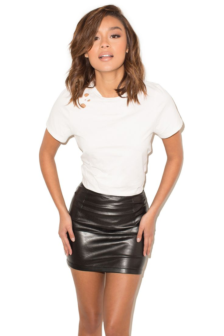 best 25+ leather mini skirts ideas on pinterest   mini skirt