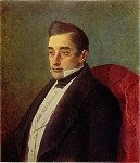 Happy 217th birthday, Aleksander Sergeyevich Griboyedov, though a homo unius libri (more or less: one-hit-wonder), his verse comedy Горе от ума ( Woe from Wit / Verstand schafft Leiden ) is still one of the most staged plays and quoted by the shining stars of Russian literature from Dostoevsky to Bulgakov.