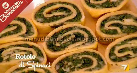 Rotolo di Frittata con Spinaci e Mozzarella di Benedetta Parodi